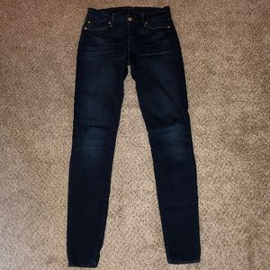 7 for all mankind skinny jeans size 25